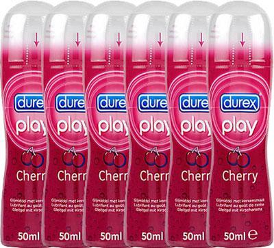 Durex Play Glijmiddel Cherry Voordeelverpakking