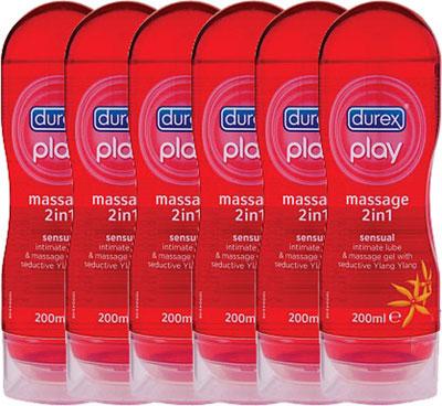 Durex Play Massage 2 In 1 Sensual Voordeelverpakking