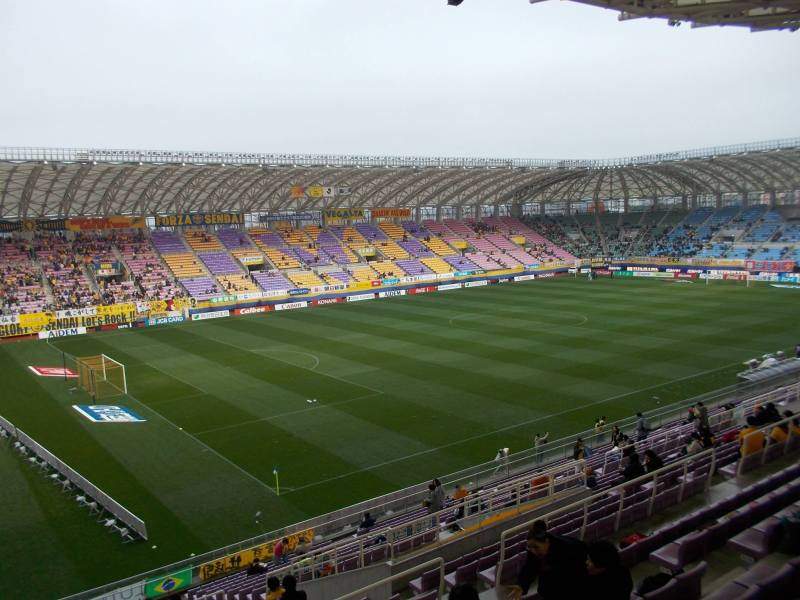 ユアテックスタジアム仙台~観るのは良し。観るのだけは。~