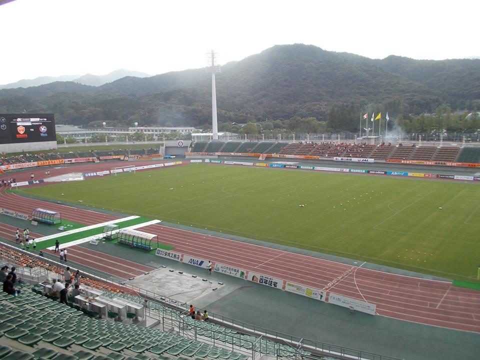 維新百年記念公園陸上競技場~グイグイ成長中~