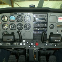 Cessna 172 Dashboard Diagram Blank Electron Transport Chain 150 152 Instrument Panel