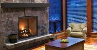 """Rutherford 36"""" Wood Fireplace - Condor Fireplace & Stone ..."""