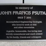 cast alunium memorial plaques provided by Candor signs Vernonbc