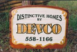 Distinctive Homes By Devco Homes Kelowna BC.Over 40 years of building excellence in the Okanagan.business sihn By Condor signs