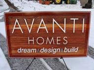 Edmonton area's premiere custom home builder specializing in uniquely designed custom homes,cedar sign by Condor signs