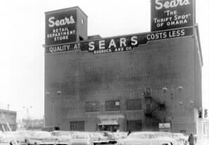 "Sears ""Twin Towers"" - December 12, 1955"