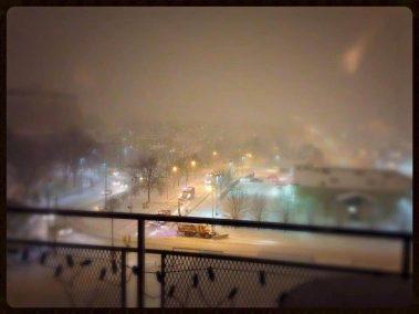 The Mini Groovy Condo - Winter View