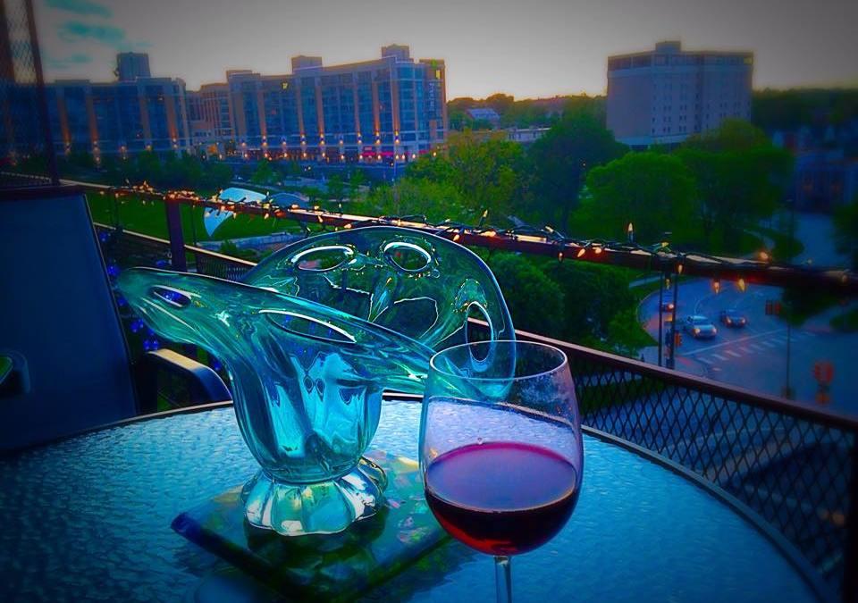 Balcony Living in Midtown Omaha
