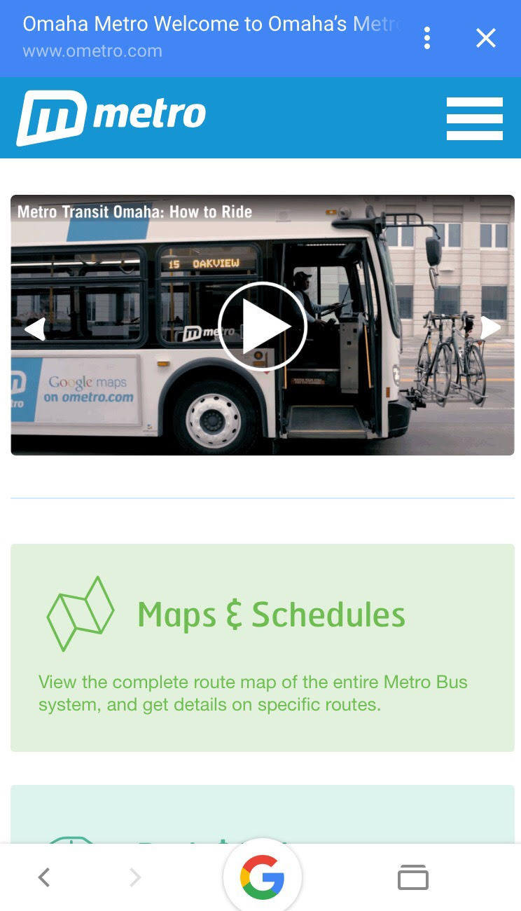 Update on Active Commuting in Omaha! - Check out the Omaha Metro