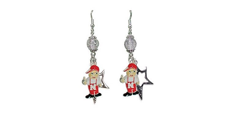 Nebraska Huskers Earrings - Husker Football Anyone?