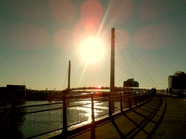 Bob Kerrey Pedestrian Bridge - Fall Into Fall