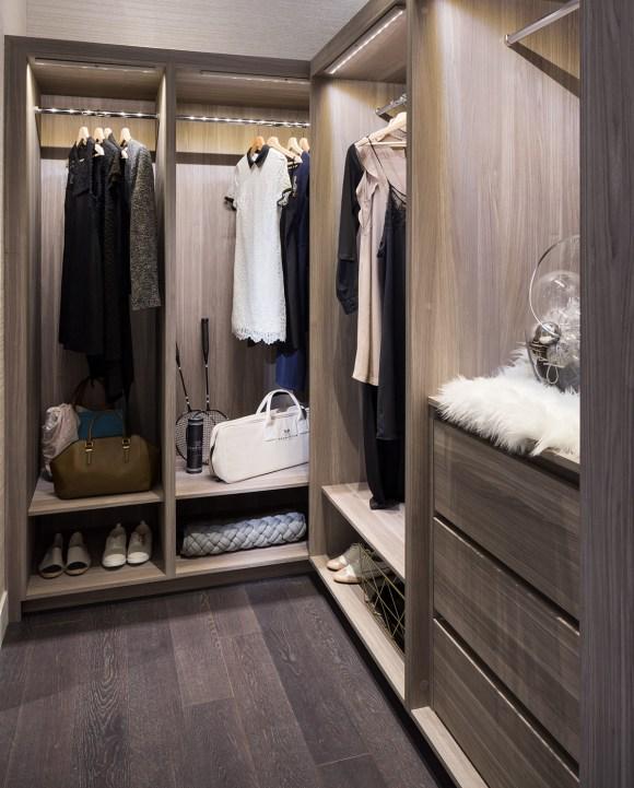 Central Condos closet
