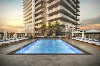 Erin Square Condos Pool