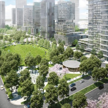 Transit city park