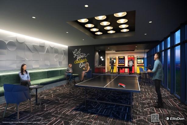 36 Zorra game room