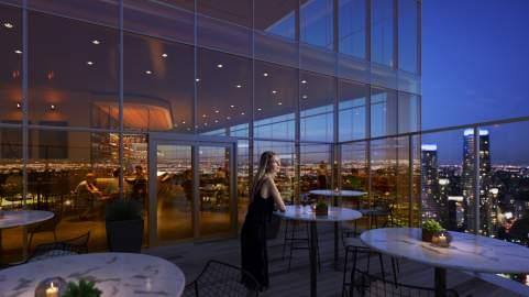Exchange District 2 sky restaurant