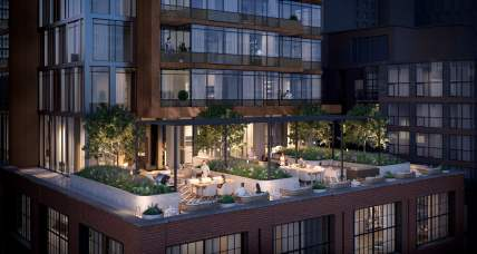 55 Mercer Rooftop Amenity