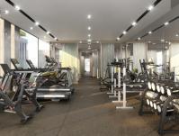 MontVert Condo Render_gym
