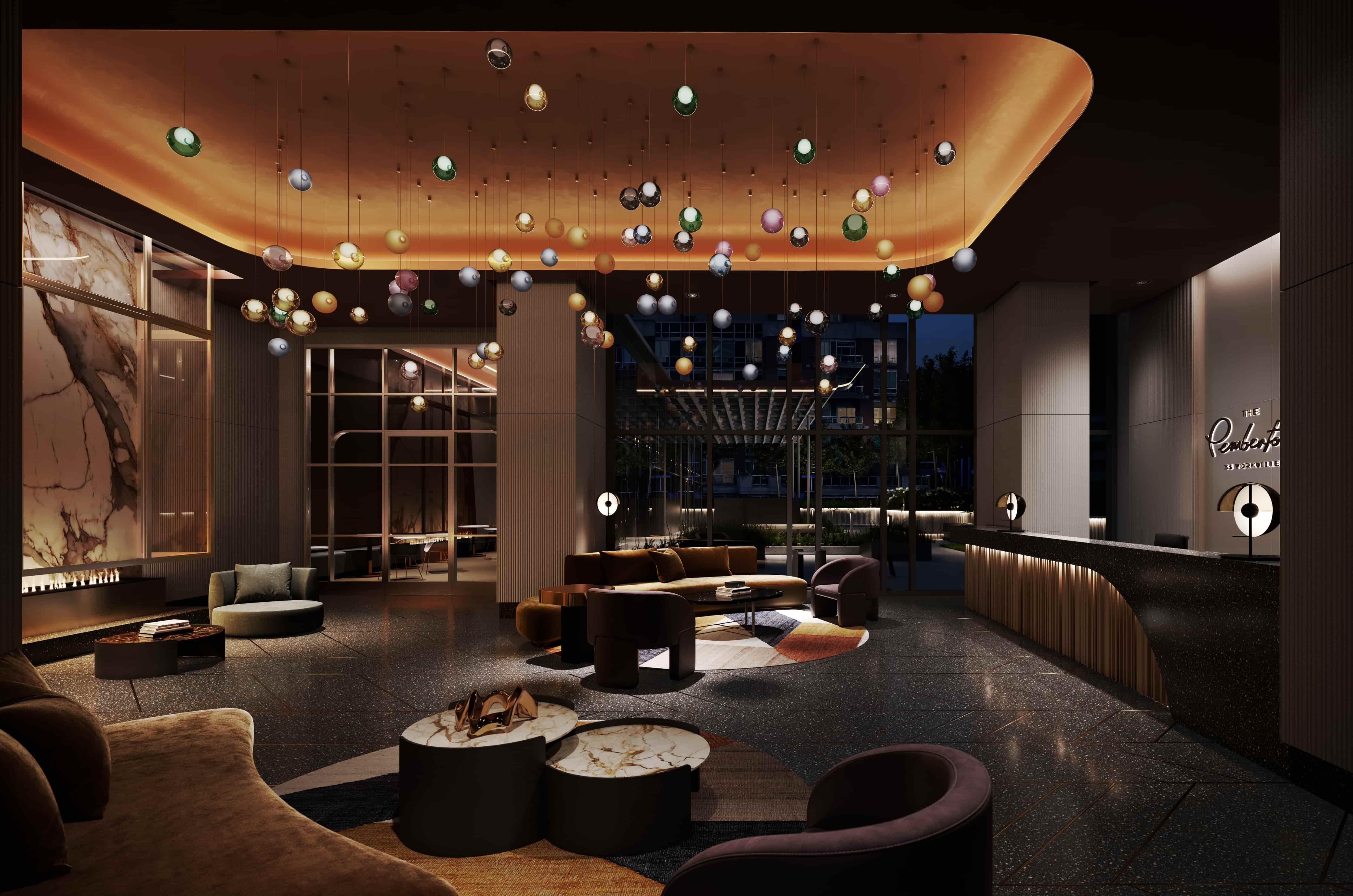 The Pemberton - Sky Lobby
