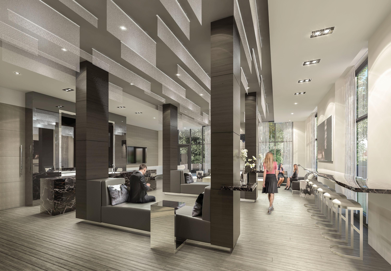 609 Avenue lobby