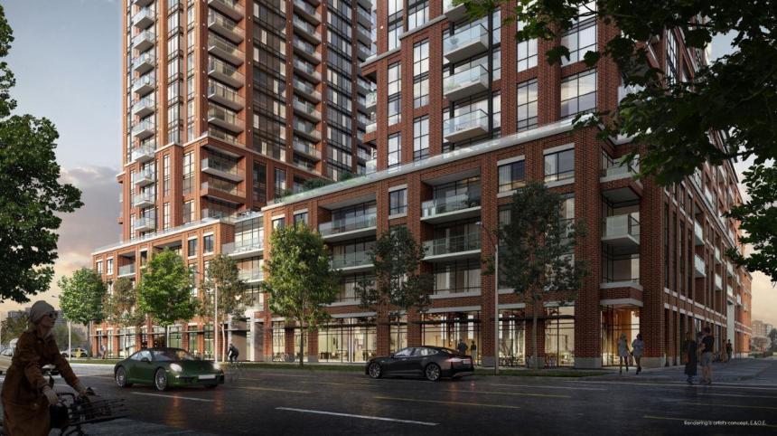 Pinnacle Toronto East Condos building 01