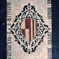 stemma gentilizio della famiglia Gaetani (lastra tombale) di Ghiberti Lorenzo (cerchia) (primo quarto sec. XV)