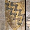 stemma della famiglia Gaetani (rilievo) - bottega fiorentina (sec. XIX)
