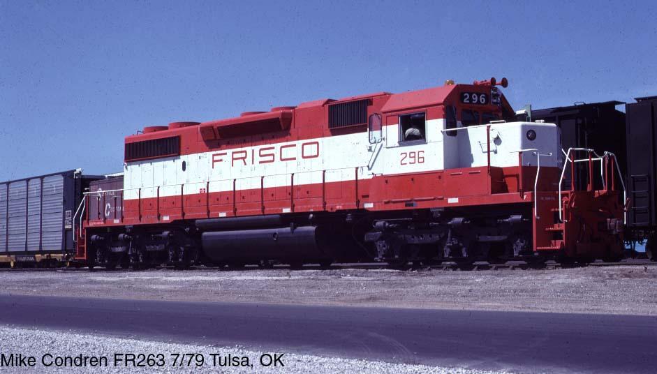 Frisco Locomotive Photos
