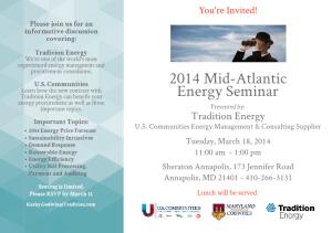 2014 Mid-Atlantic Energy Seminar