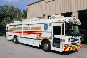 Medical Ambulance Bus - Photo Courtesy of HCDFRS