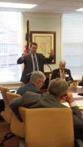 Chair of JRCC, Chris Shank, explains the background and process for justice reinvestmetn in Maryland.