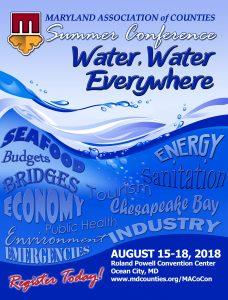 Summer #MACoCon to Focus on Water Issues