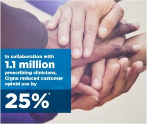 Cigna Helps to Reduce Opioid Use by 25% One Year Early