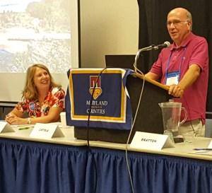 Delegate Carozza and Dr. Ciotola.