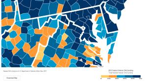 Maryland Counties Receive Millions in VA Benefits