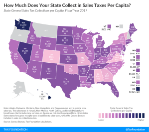 Sales Taxes Per Capita: How Much Does Maryland Collect?