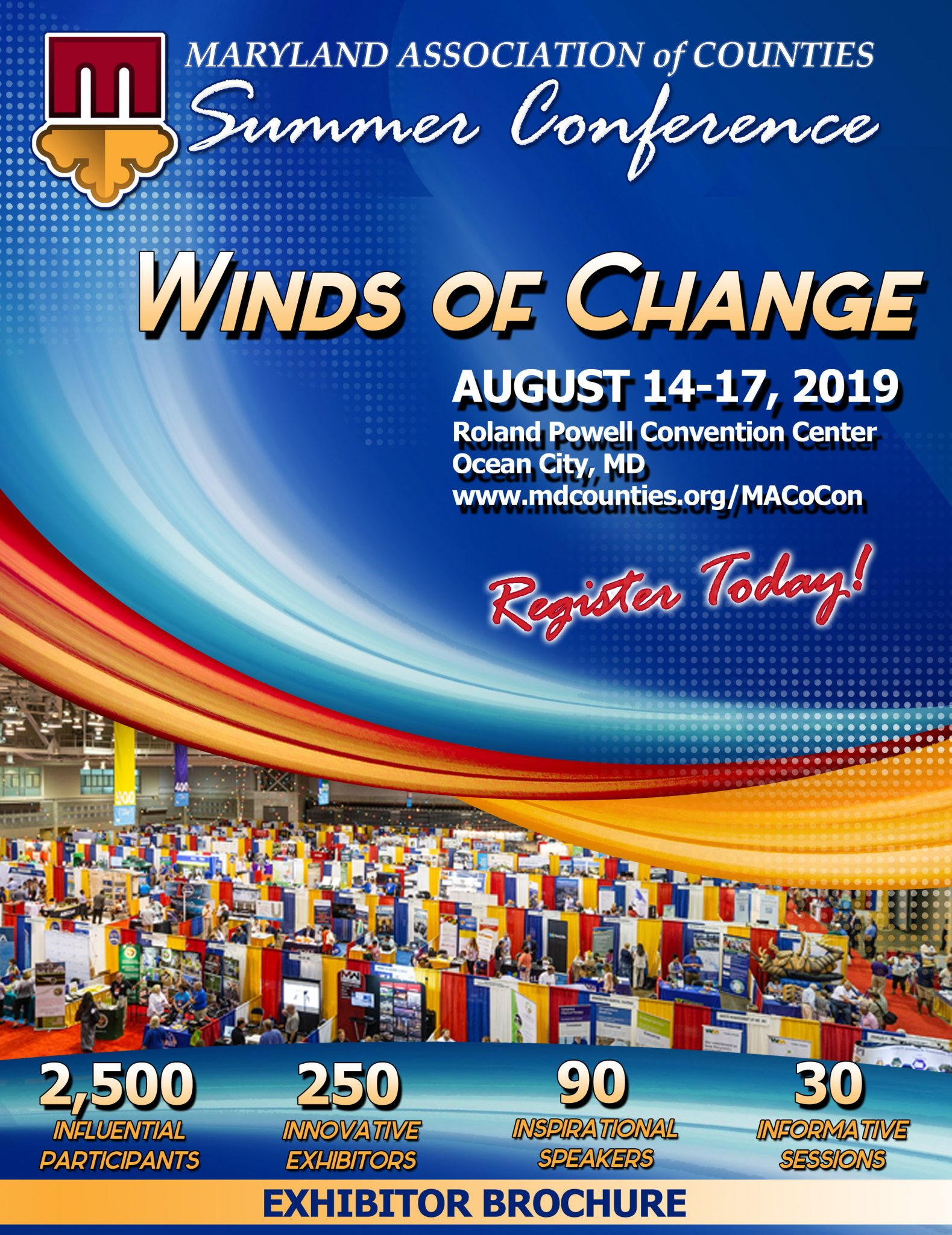 Looking for a Chance to Connect with Counties? Exhibit at #MACoCon!