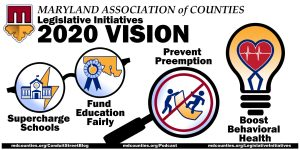 MACo to Ways and Means Committee: Prioritize Schools, Behavioral Health, Local Decision-Making