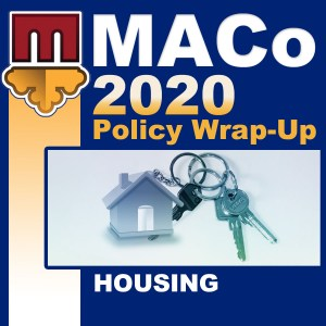 2020 End of Session Wrap-Up: Housing and Community Development