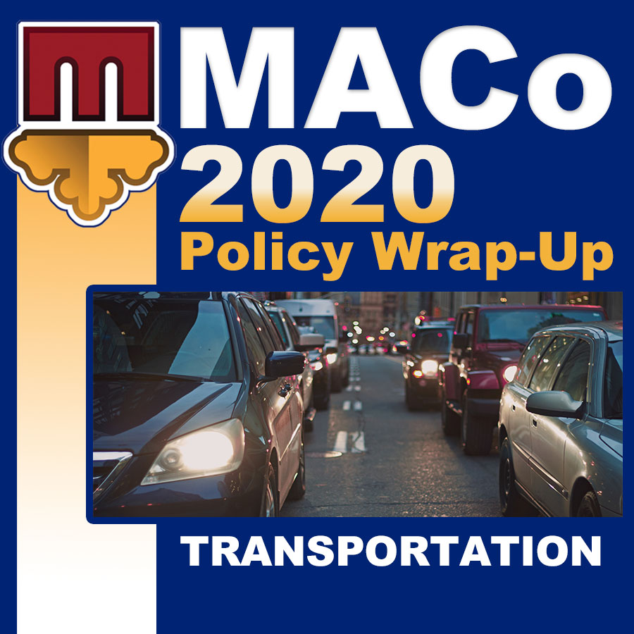2020 End of Session Wrap-Up: Transportation and Public Works