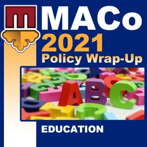 2021 End of Session Wrap-Up: Education