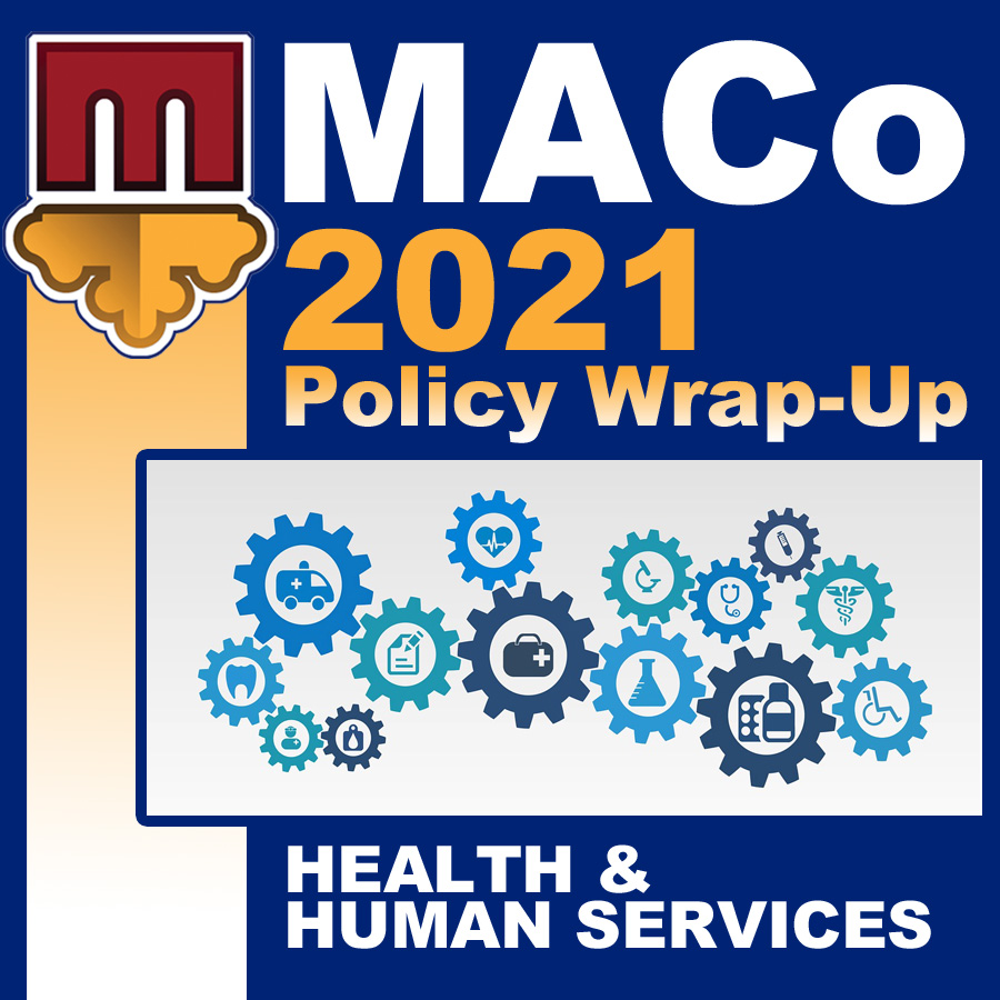 2021 End of Session Wrap-Up: Health and Human Services