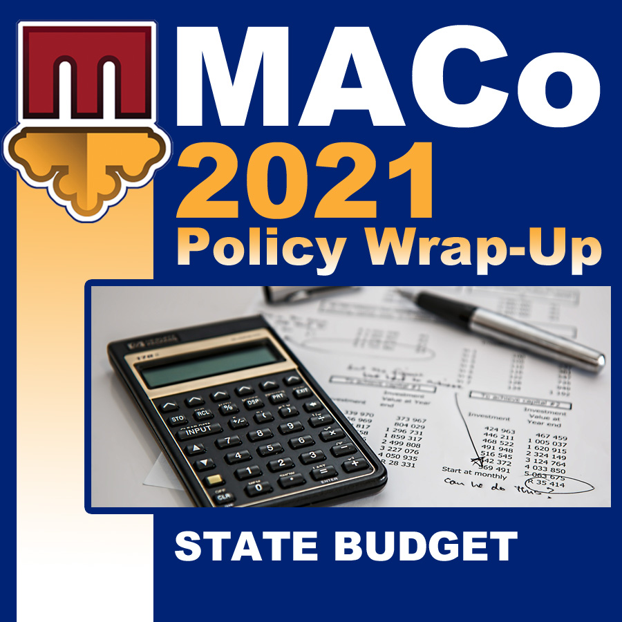 2021 End of Session Wrap-Up: State Operating Budget