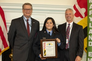 Cecil 9-1-1 Specialist Named Maryland's Dispatcher of the Year