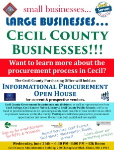 Cecil to Host Procurement Expo