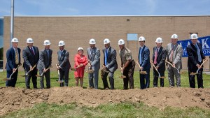 Howard Breaks Ground on New Courthouse