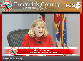 Frederick Holds Virtual Public Hearing on Fiscal 21 Operating & CIP Budgets