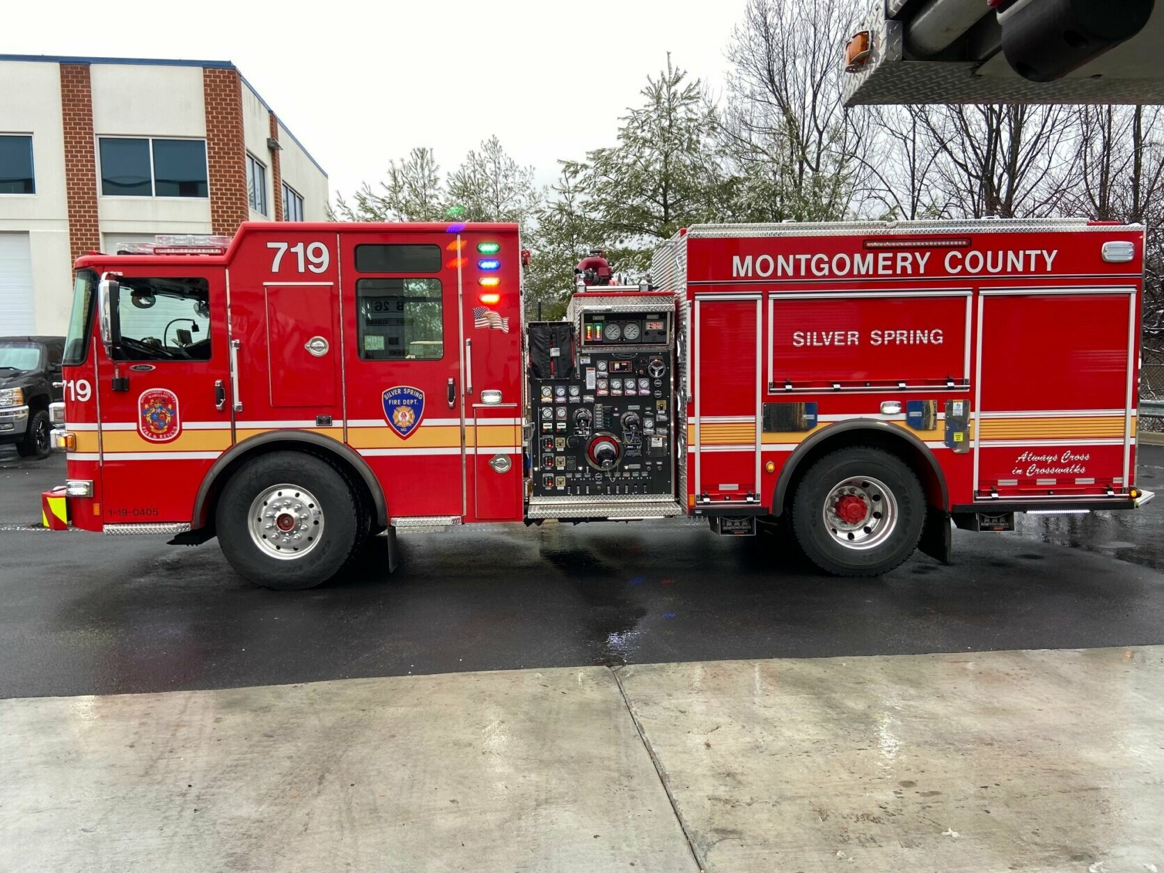 Montgomery Invests $25 Million in New Fire Engines