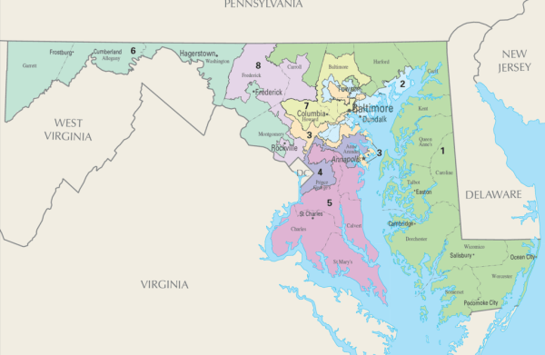 Redistricting Commission to Hold Regional Meeting for Calvert, Charles, and St. Mary's Counties