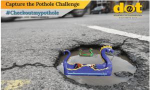Baltimore City Launches 'Capture the Pothole Challenge'